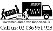 Man and Van in W9 and Maida Vale